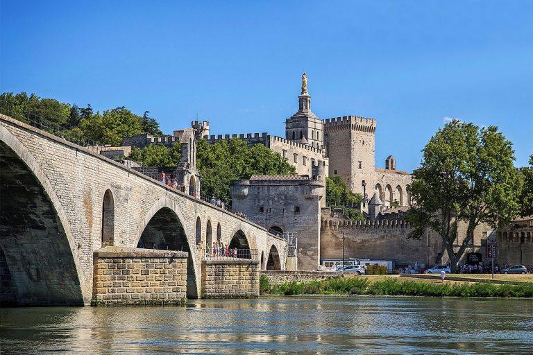 Visite guidée d'Avignon, avec accès au palais des Papes