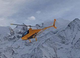 chamonix helicoptere