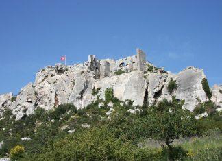 chateau baux de provence
