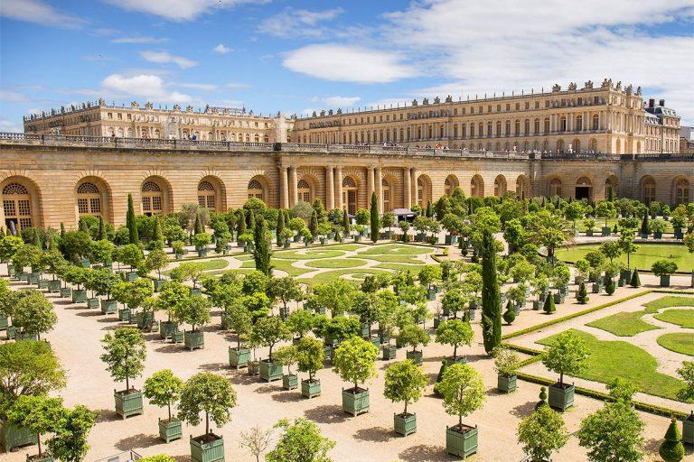 Visite guidée dans les jardins du château de Versailles