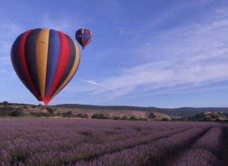 montgolfiere provence