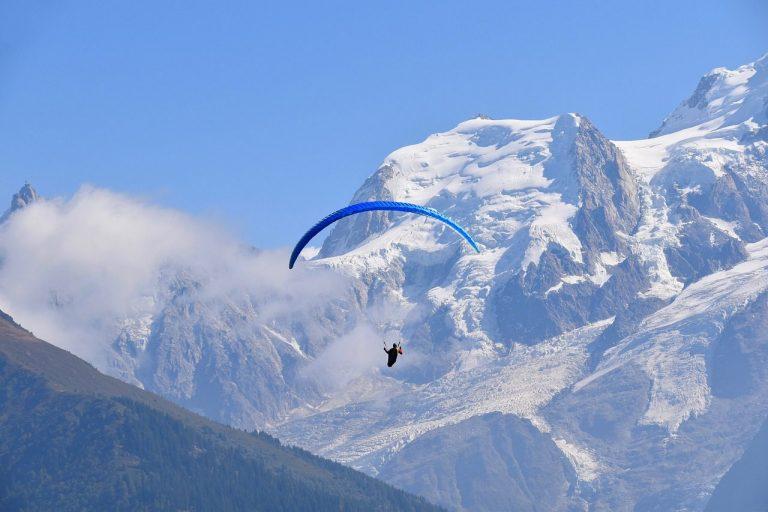 Volez en parapente au-dessus des Alpes à Chamonix
