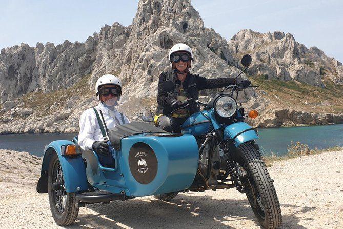 Visitez Marseille lors d'un tour de 45 minutes en side-car