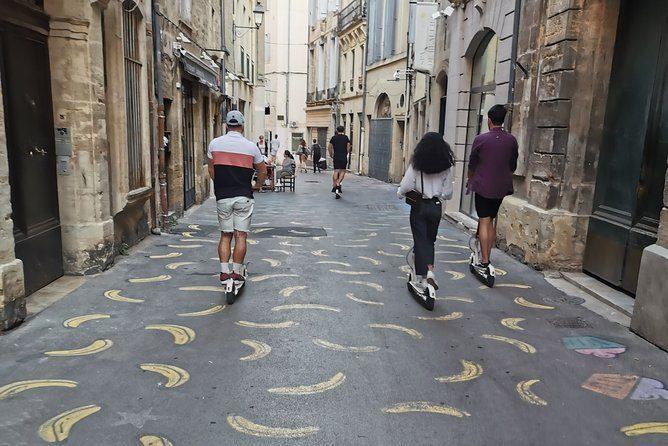 Découvrez Montpellier en trottinette électrique avec un guide