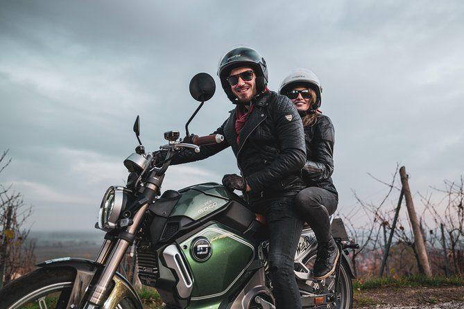 Location d'une moto électrique au départ de Sélestat