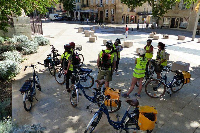 Visite guidée d'Aix-en-Provence à vélo électrique